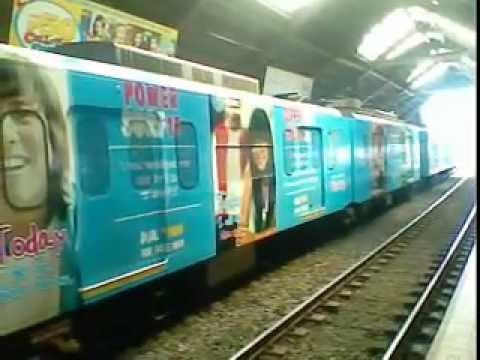 LRT 3G Globe Train Arrival
