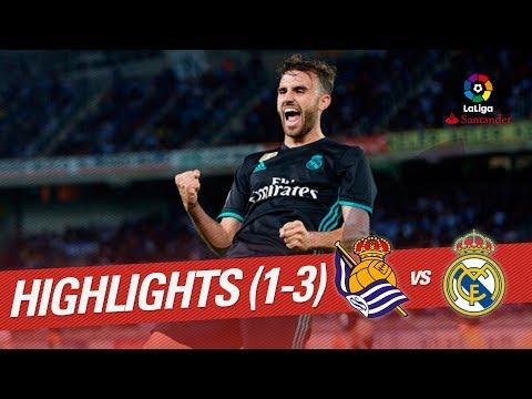 Resumen de Real Sociedad vs Real Madrid (1-3)