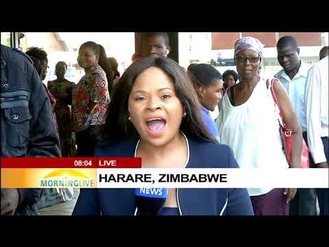The morning after the resignation of Mugabe in Zimbabwe