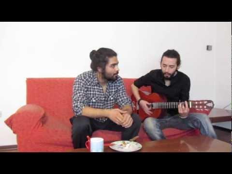 S01,E01, Singing, Eating: Delam barat tang shode joonam - Reza Sadeghi (Cover)