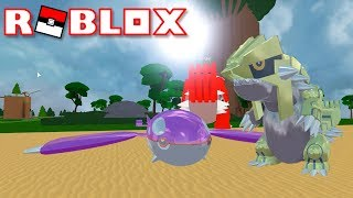 REFLECTIVE SHINY KYOGRE AND GROUDON HACK!!!!!!!! | Pokémon Fighters EX | ROBLOX