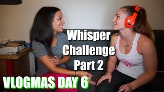 What's In My Gym Bag | Whisper Challenge Part 2 | VLOGMAS DAY 6