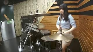 朱音AKANE 【CHARM】WANIMA 女性ドラマー