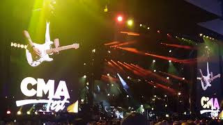 KANE BROWN singing Learning at CMA FEST 2018 Nashville Tennessee