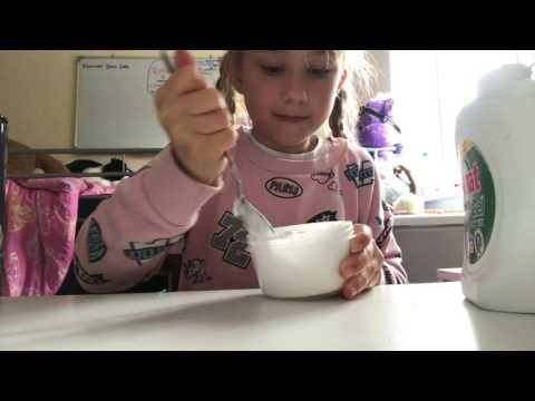 Homemade fluffy slime uk