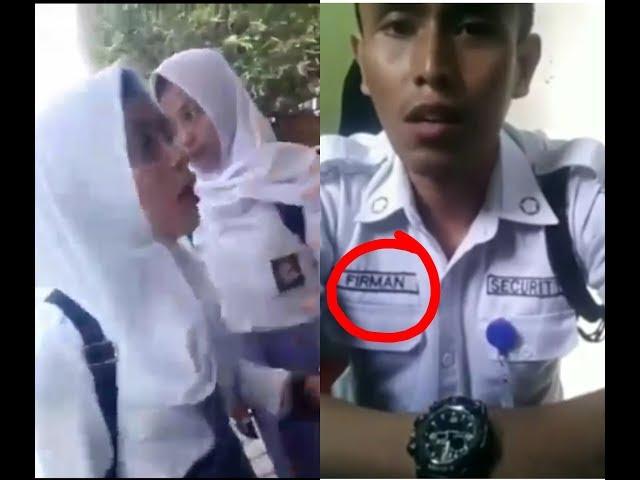 Ngapak lucu - Cewek SMA rebutan Firman | lagi Viral di Indonesia | gara-gara Firman