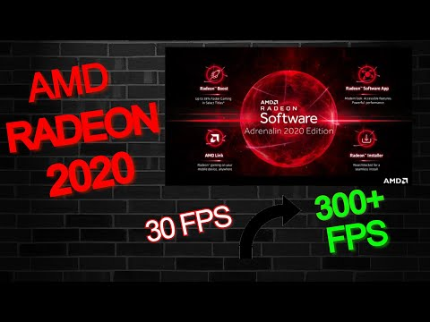 Best Amd Radeon 2020 Settings Update 20 4 2 Boost Fps Fortnite Youtube