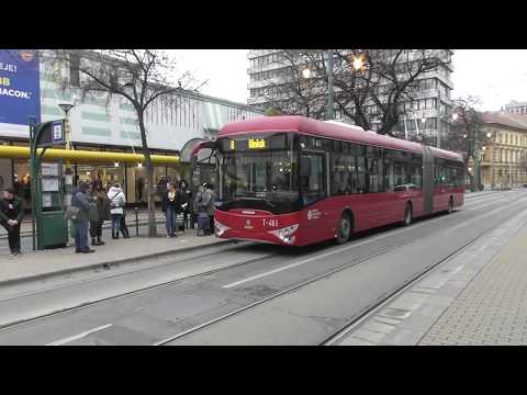 2019.12 Szeged Trolik és buszok vegyes