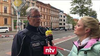 Polizist zu tödlichen Schüssen in Halle - Hinweise auf mehrere Täter