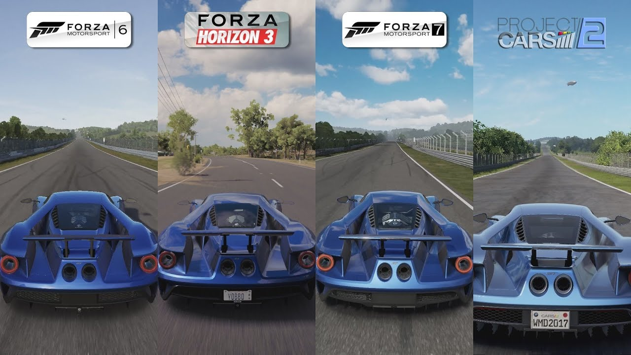 forza 6 vs forza horizon 3 vs forza 7 vs pcars 2 ford. Black Bedroom Furniture Sets. Home Design Ideas