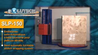 Solutech Packaging systems SLP 150 stretch wrapper