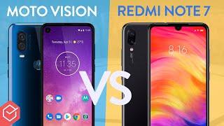 Xiaomi Redmi Note 7 vs. Motorola One Vision - Qual melhor??   Comparativo