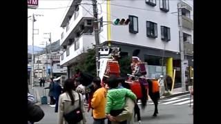 湯河原町土肥祭武者パレード2017