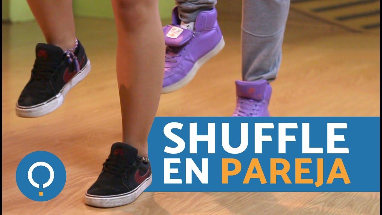 BAILAR SHUFFLE EN PAREJA - COREOGRAFÍA de shuffle dance