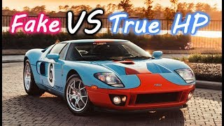 Cars That Faked Their Horsepower Ratings