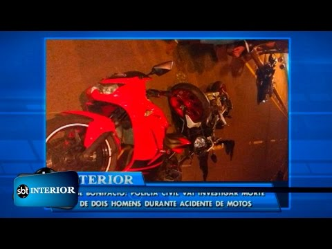 José Bonifácio: Polícia Civil vai investigar morte de dois homens durante acidente de motos