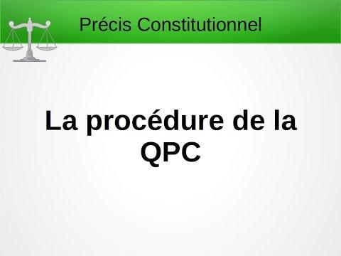 La procédure QPC