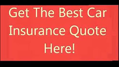 Free Car Insurance Quotes! USA only