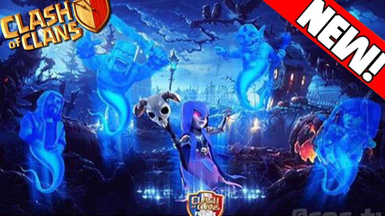 Clash of Clans - TITLE SCREEN OCTOBER NEW UPDATE! Halloween Update ...