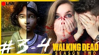 { ZAPIS Z LIVE} ☠️ THE WALKING DEAD 2 ☠️ ep. 3-4