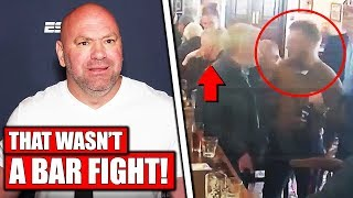 Dana White reacts to Conor McGregor punching old man, Jorge Masvidal rips Conor for pub video