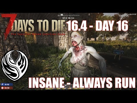 7DTD 16.4 | Insane / Always Run 16: Traders And Mining