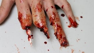 Tutorial: Mutilated Hand Makeup (Using Wax)(Alright, I'll try to make some more tutorial using more beginner materials (such as latex and wax, and I've just ordered some gelatine). Products used: -Ben Nye ..., 2013-11-27T08:08:09.000Z)