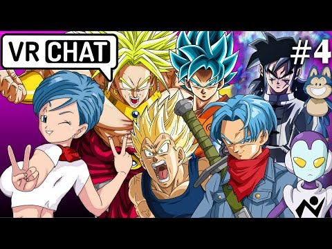 Who is Trunks' REAL father? - Bulma Plays VR Chat #4