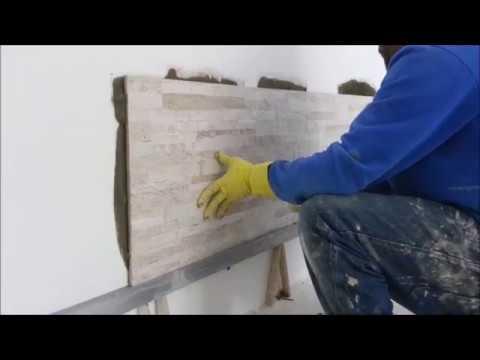 Aprenda como colocar canjiquinha retificada passo a passo - Como aplicar microcemento sobre azulejos ...