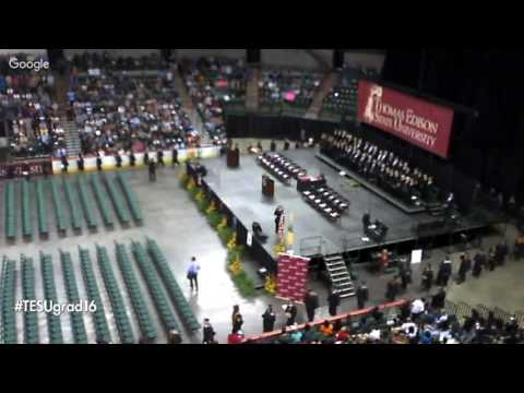 Live Stream of Thomas Edison State University's 2016 Commencement