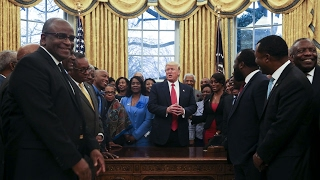 Trump meets heads of historically black colleges