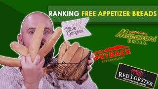 Ranking Free Appetizer Breads--Bless Your Rank