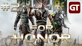 Thumbnail für Let's Play For Honor German #2 - For Honor Gameplay Deutsch Kampagne / Singleplayer