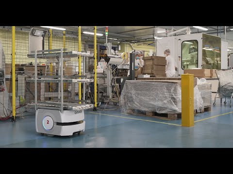 Autonomous mobile robots simplify intralogistics at Diva International
