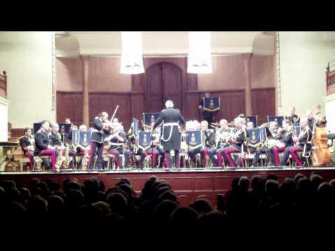 The Band of the Blues & Royals - Ashokan Farewell, Violin Soloist LCpl Louise Crofts.