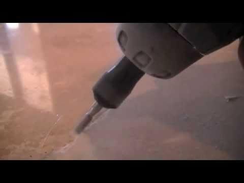 Travertine Tile Floor Crack Repair Polishing Amp Sealing In
