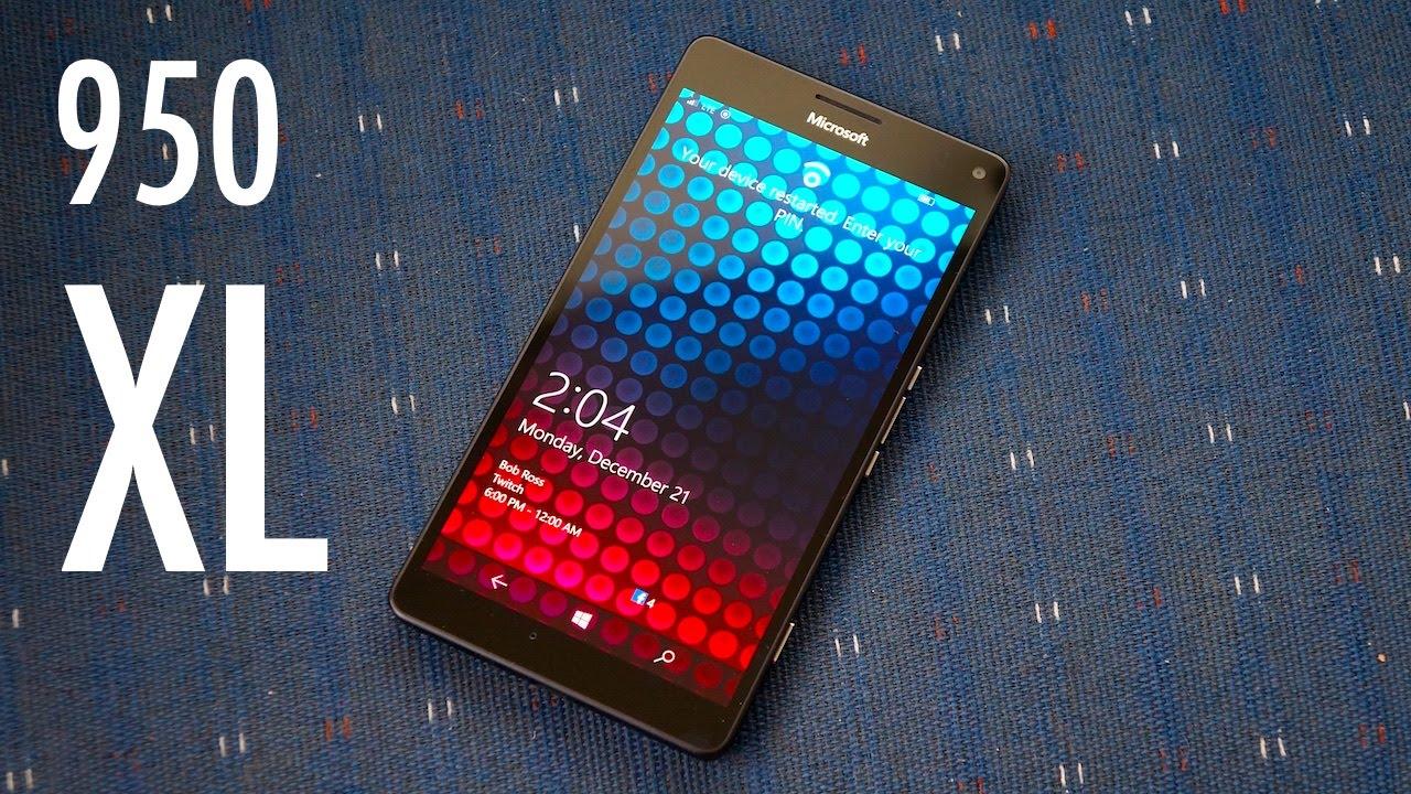 Lumia 950 XL Review Nope