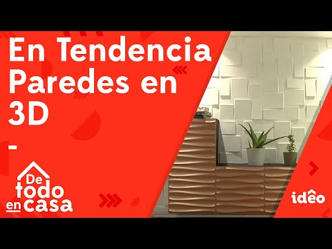 Paredes en 3d son Tendencia - De Todo En Casa