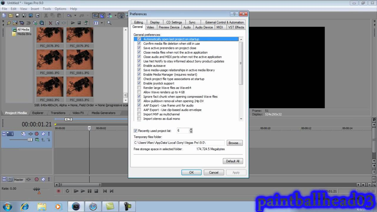 How to do stop motion in sony vegas pro - YouTube