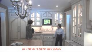 In The Kitchen: Wet Bar Cabinetry