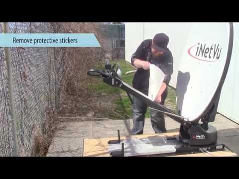 Mobile Driveaway Antenna 1200 - Assembly procedure - NJ Albert Telecommunications