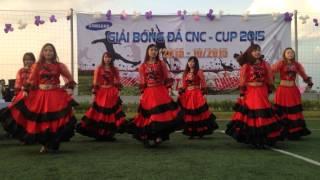 Vũ điệu Flamenco do Dancing club SEVT thể hiện