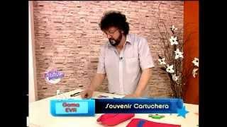Jorge Rubicce - Bienvenidas TV - Cartuchera Souvenir en Goma Eva Cotillón