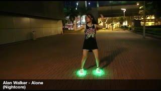 Alan Walker-Alone 美女 曳步舞 鬼步舞 Girl Shuffle