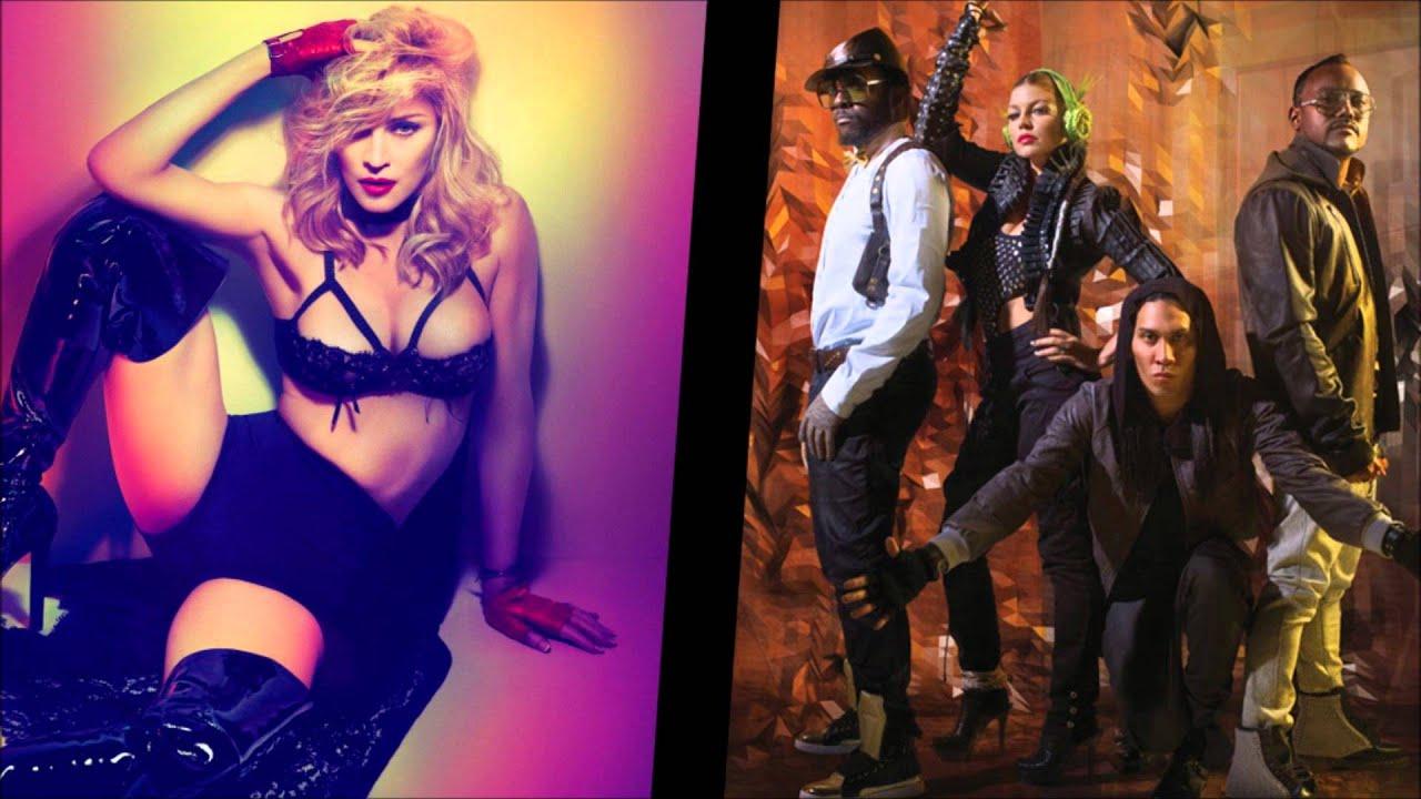 Black Eyed Peas vs Madonna - Turn Up The Feeling (Vertigo Remix)  sc 1 st  YouTube & Black Eyed Peas vs Madonna - Turn Up The Feeling (Vertigo Remix ...