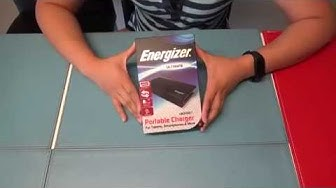 Energizer® Ultimate Power Bank (UE20001)   Unbox & Review  
