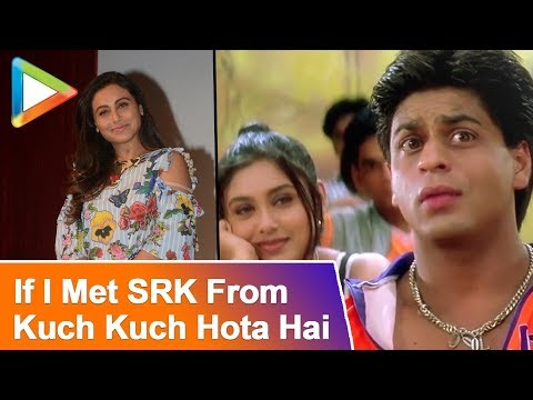 "Rani Mukerji: ""If I Met Shah Rukh From Kuch Kuch Hota Hai, I Would...""| RAPID FIRE"