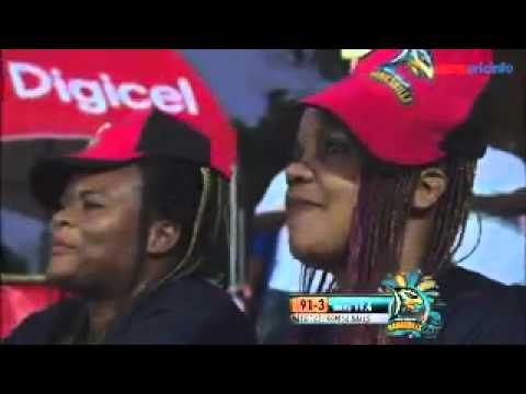 Marlon Samuels 106 Guyana Amazon Warriors vs Antigua Hawksbills 22nd CPL T20 Match 2014