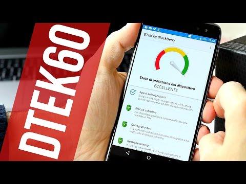 BlackBerry DTEK60: sicurezza e produttività | #RECENSIONE ITA