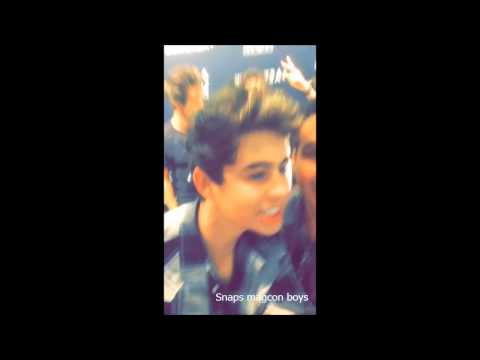 Bryant snapchat (Carter Reynolds,Cameron Dallas,Hayes and Nash Grier)